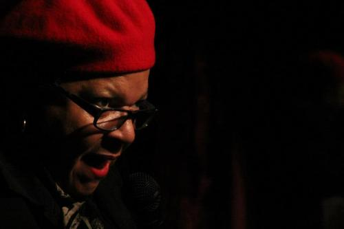 Aundre the Wonder Woman @ Deco Lounge by Andrew Moore (via Hella Gay Comedy Show). [Champion].