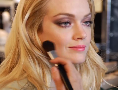 VIDEO: Behind-the-Scenes of the Victoria's Secret Makeup Campaign. See the video here.