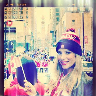 So #proud to be #canadian @ #cdnolympicparade with @samsungCanada #giveyoureverything  (Taken with Instagram)