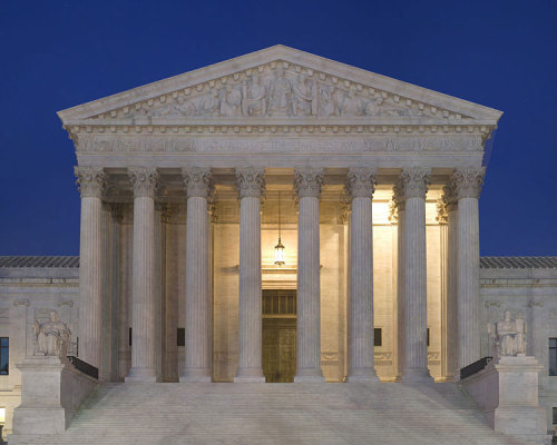 pbsthisdayinhistory:  September 24, 1789: The Supreme Court Established On this day in 1789, the Judiciary Act of 1789 was passed by Congress and signed by President George Washington. This act established the Supreme Court of the United States as a tribunal of six justices nominated by the president and confirmed by the Senate.  In Article 3 of the United States Constitution, the Supreme Court is granted ultimate jurisdiction over all laws. Take a look at The Supreme Court timeline that details Supreme Court developments throughout American history.   Happy birthday to my favorite branch!