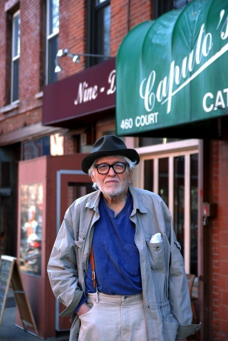 Painter Ron Gorchov was spotted on Court Street…Boerum Hill, Brooklyn (via South Brooklyn Post)