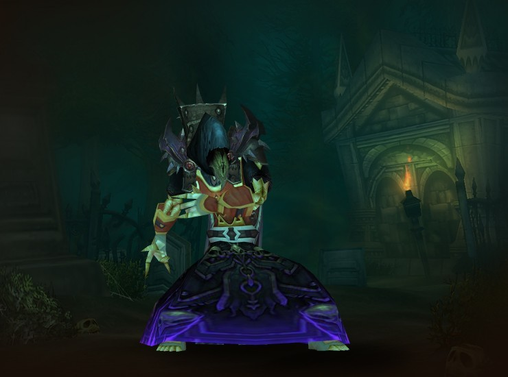 Xinter the Hallowed Male Undead Warlock EU Stormreaver [Conqueror's Deathbringer Hood] [Pauldrons of Catastrophic Emanation] [Drapes of the Dragonshrine] [Conqueror's Deathbringer Robe] [Tabard of Summer Flames] [Firesoul Wristguards] [Archivist's Gloves] [Historian's Sash] [Balespider's Leggings] [Slippers of Wizardry] [Fanged Tentacle] [Orb of the First Satyrs]
