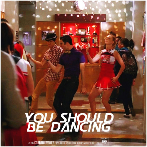 3x16 Saturday Night Glee-ver | You Should Be Dancing Requested Alternative Cover Request by renateharris