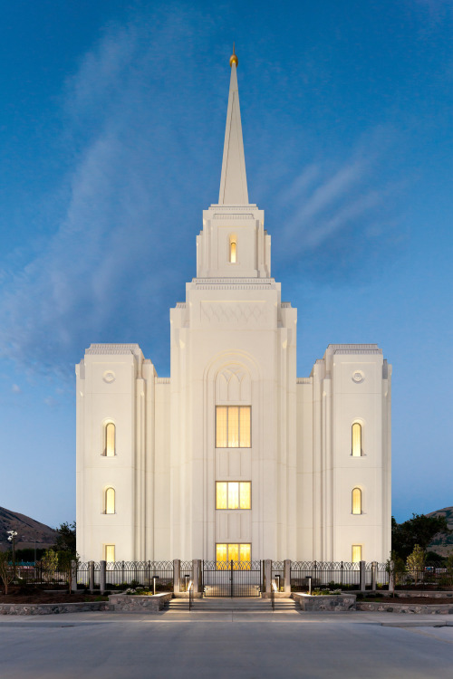 Did you know? When Mormon buildings are dedicated, it means they are set apart for the work of the Lord. Today is the dedication of the Brigham City Utah Temple.