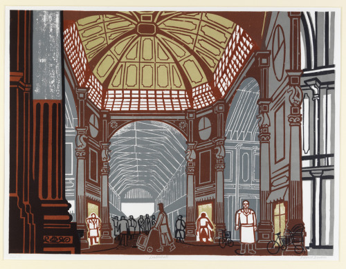 thecricketchirps:  Edward Bawden, Leadenhall, 1967