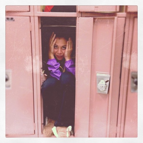 alittlemental:  lmao at Ana in this locker  (Taken with Instagram)