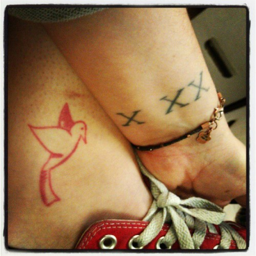 I mean, if we're sharing tattoos… #xxx #eits (Taken with Instagram)