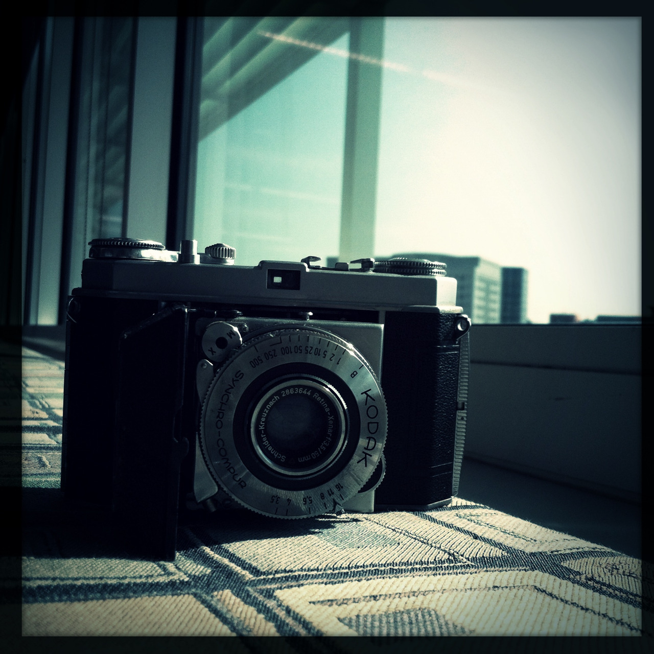 Latest thrift store photography find: A Kodak Retina Ia camera for $4.