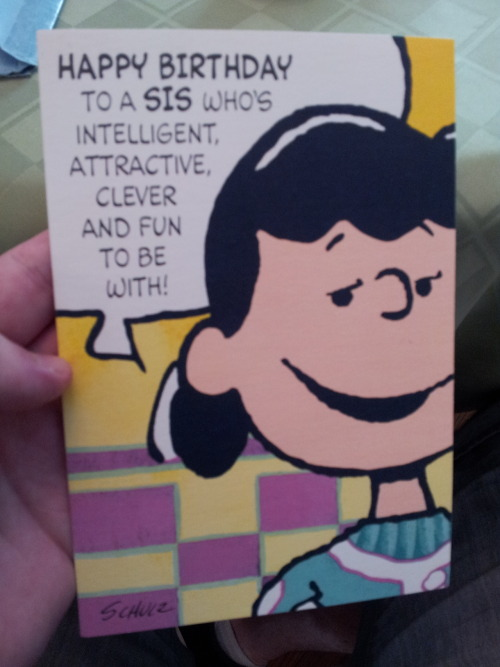 brigwife:  probablyharrison:  my grandma and great aunt have passed this card back and forth every birthday for almost 20 years  AWWWHH
