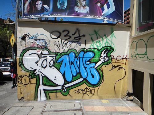 A round-up of La Paz graffiti.