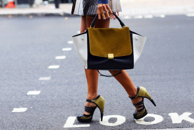 Celine bag and Jason Wu shoes.