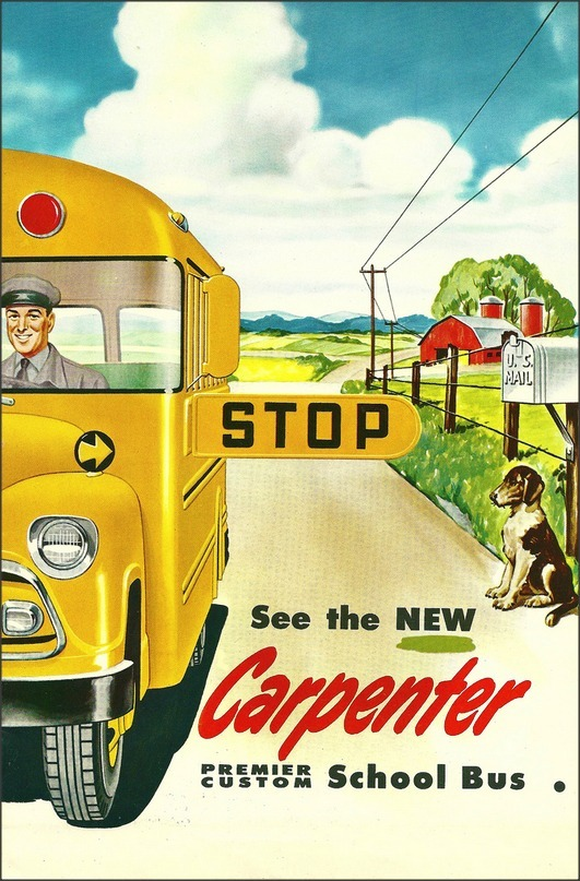 Carpenter School Bus, 1950s