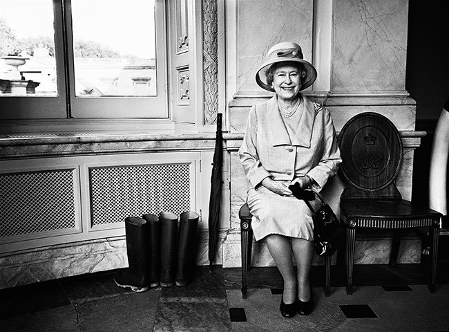 The Queen photographed by Brian Adams