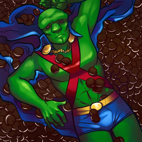 Prints I Bought at SPX 2012 #1: Erica Henderson's Martian Manhunter Superhero Beefcake