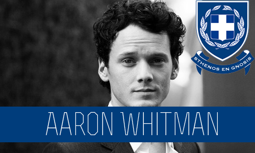 Aaron Whitman | Sophomore | Math | FC: Anton Yelchin  His entire life Aaron has been fearless. Never afraid to do whatever it was he wanted to do and not at all concerned about what people thought about him. He was raised by a single mother and with her working two jobs and spending time with her boyfriend he was pretty much able to get away with whatever he wanted. He's not used to people telling him what to do and doesn't pay any attention to rules. He does what he wants to do when he wants to do it and hardly pays attention to how his actions might affect others. Joining Sigma Chi Delta was an easy decision for Aaron, it was exactly the place he could see himself spending his college years. Of course he isn't too fond of the rules that come along with living on Greek Row but luckily the Sigma boys aren't really too keen on rules. He enjoys the environment at the house and feels at home there. He gets along with all his brothers, happy to not be surrounded by people that take school too seriously and instead by able to have a good time with people that enjoy doing the same things as he does. When it comes to socializing with people from other houses Aaron of course enjoys spending time with the Zetas but at times finds them boring and to easy and when it actually comes to pursuing someone for something more than a one night stand he's actually rather work for it so he often has his eyes set on some Alpha or Theta that he can actually see himself having a good time with. He also gets a long alright with most of the Kappas, if anything he finds them amusing and often tries to lure them out of their comfort zone but when it comes to Betas he thinks they are complete tools and doesn't try to hide how he feels about them.