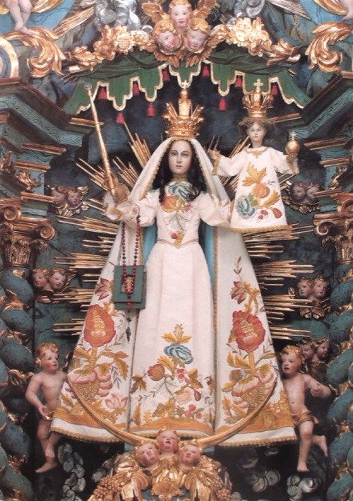 allaboutmary:  The statue of Our Lady of Light in Trun, Switzerland. History