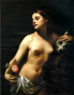 vcrfl:  Guido Cagnacci (1601–1663): Allegory of Vanity and Penitence.