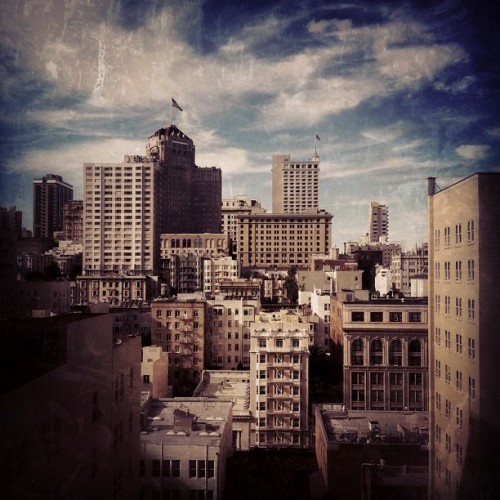 View from the Westin St. Francis. (Taken with Instagram at The Westin St. Francis)