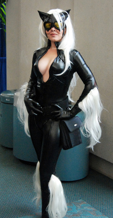 Ultimate Black Cat at SDCC 2008 by Brian Gyss