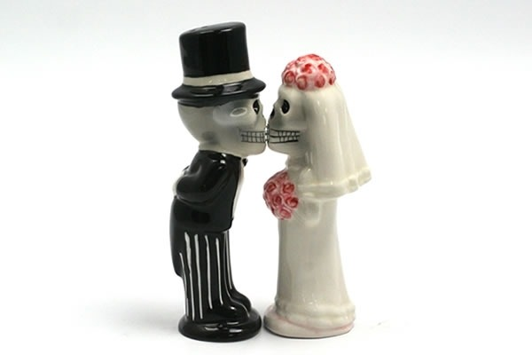 Love Never Dies - Salt & Pepper Shakers