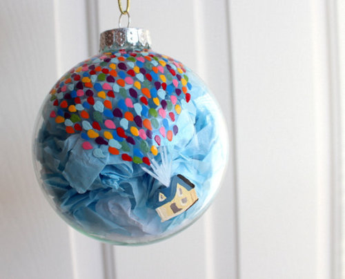 Up inspired ornament! I love the look of this!