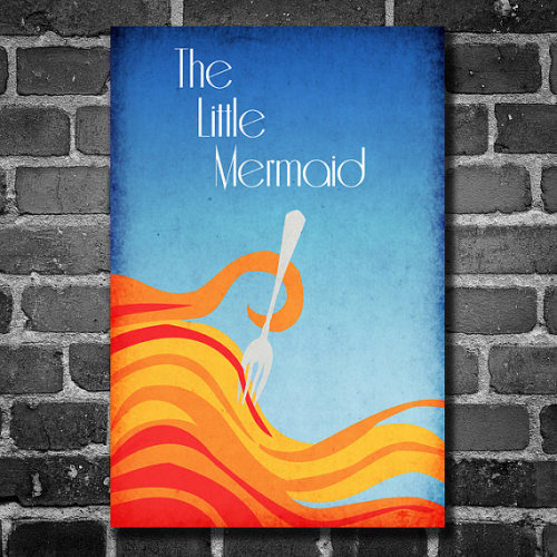 heckyeahdisneymerch:  The Little Mermaid poster!