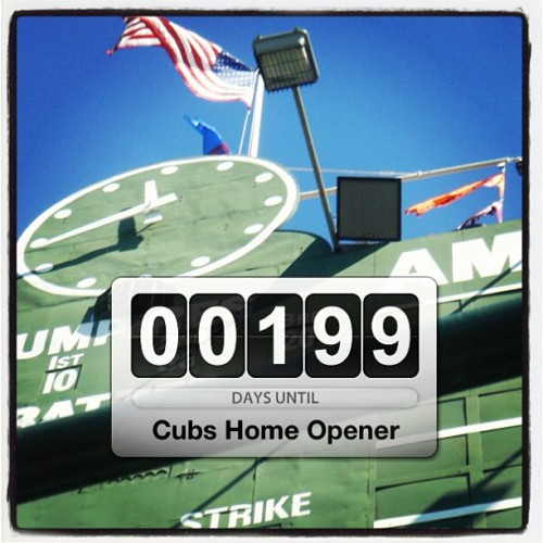 thewrigleyblog:  Good news, #Cubs Fans: (Taken with Instagram)