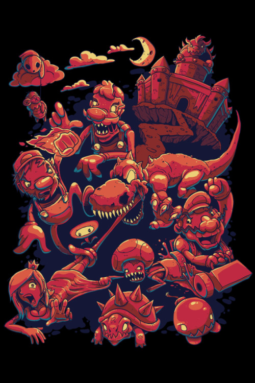 Zombie Kingdom 2 Created by Mike Gaboury Twitter | Store | Tumblr (Via: mikegaboury)