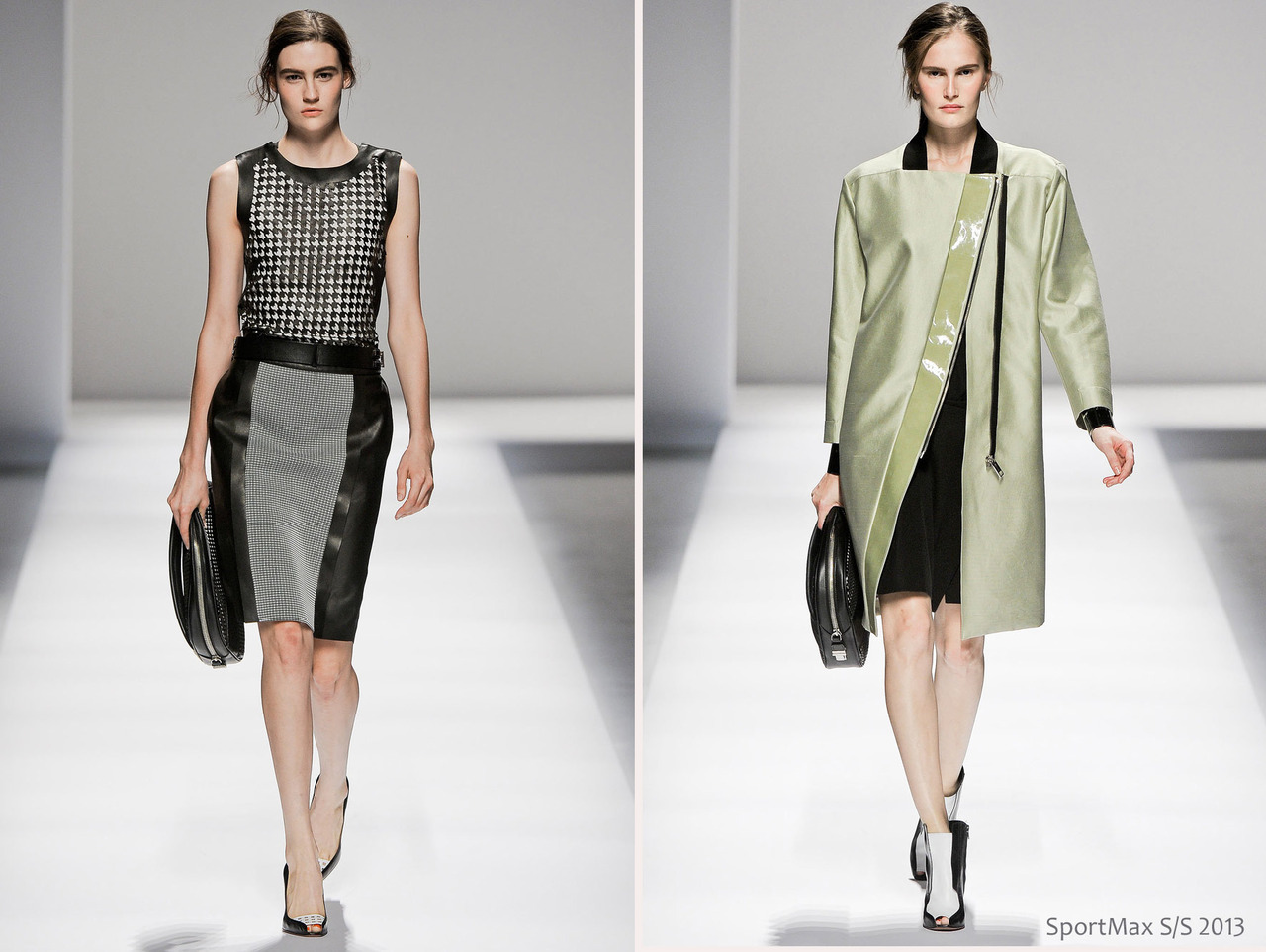 Sportmax Spring/Summer 2013 #MFW | Looks for the sleek #VoguishCareerist