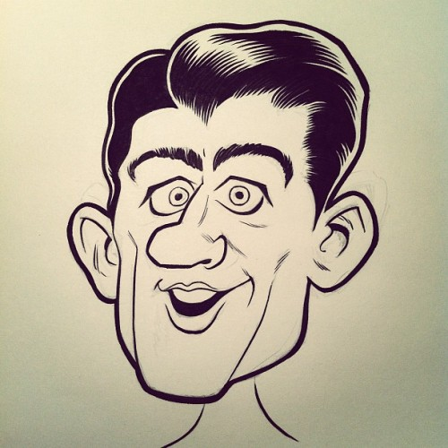 Paul Ryan caricature #InProgress Check out more from CrowdedComics.com at http://crwded.co/tumb01