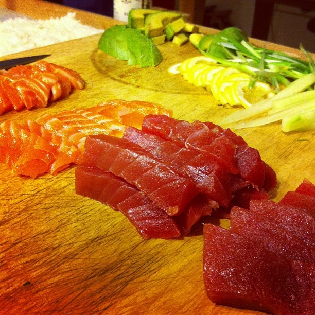 Sushi time! (Taken with Instagram)