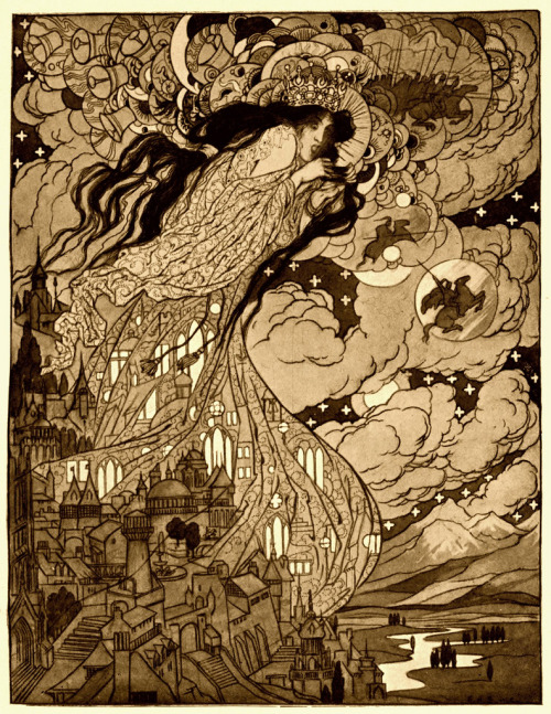 meanwhilebackinthedungeon:  Sidney Sime - The Soul Of Andelsprutz (1910)