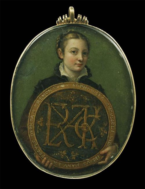 aleyma:  Sofonisba Anguissola, Self Portrait, c.1556 (source).