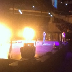 This dude had pyro's at his show. Lmao! @kevinhart4real #FlameOn #EpicGreatness (Taken with Instagram at Bankers Life Fieldhouse)