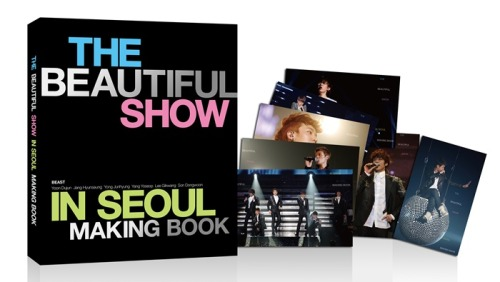 Beast World Tour Beautiful Show Making Book [ Korea Edition ] : $47.00
