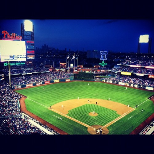 Last #phillies game of the season. ⚾❤#baseball  (Taken with Instagram at Citizens Bank Park)