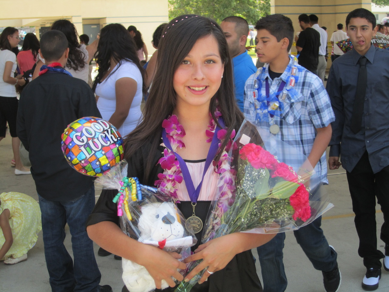 eighth grade graduation…omg the years go by soo fast. I cant believe I'm a sophmore now! :)