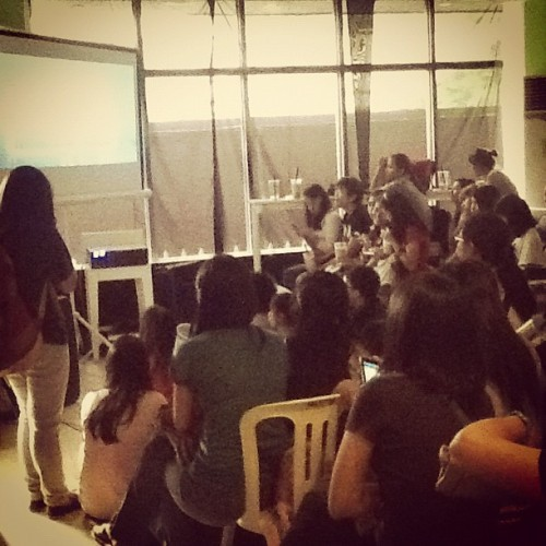 Jampacked here @moonleafteashop for #MoonleafCDC (Taken with Instagram at Moonleaf Tea Shop)
