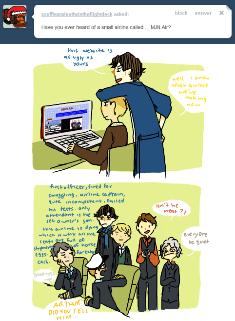 ask-sherlockbbc:   GOOD AIRLINE WEBSITE ARTHUR