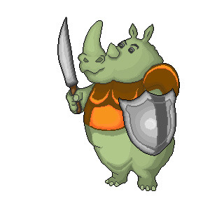 RHINO The mighty warrior yet! :D
