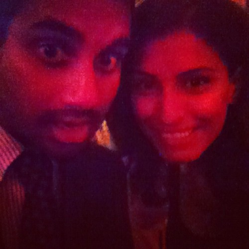 Me and aziz chillen. (Taken with Instagram at Fig & Olive)