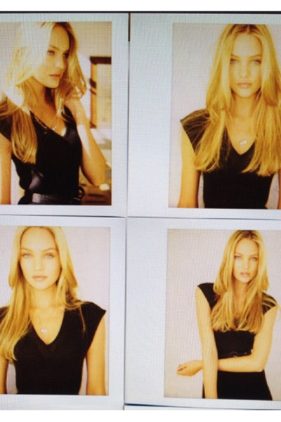 az-uki:  candice's polaroids that got her interview for victoria's secret