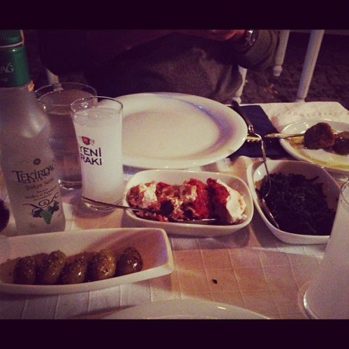 Alacati, Cesme. (Taken with Instagram at Karina Balık Restaurant)