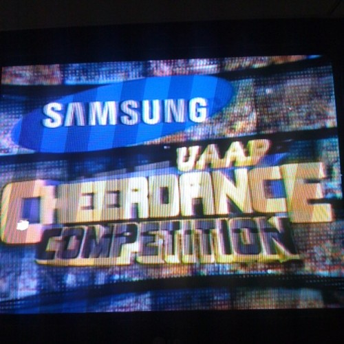 Uaap cheerdance :) (Taken with Instagram)