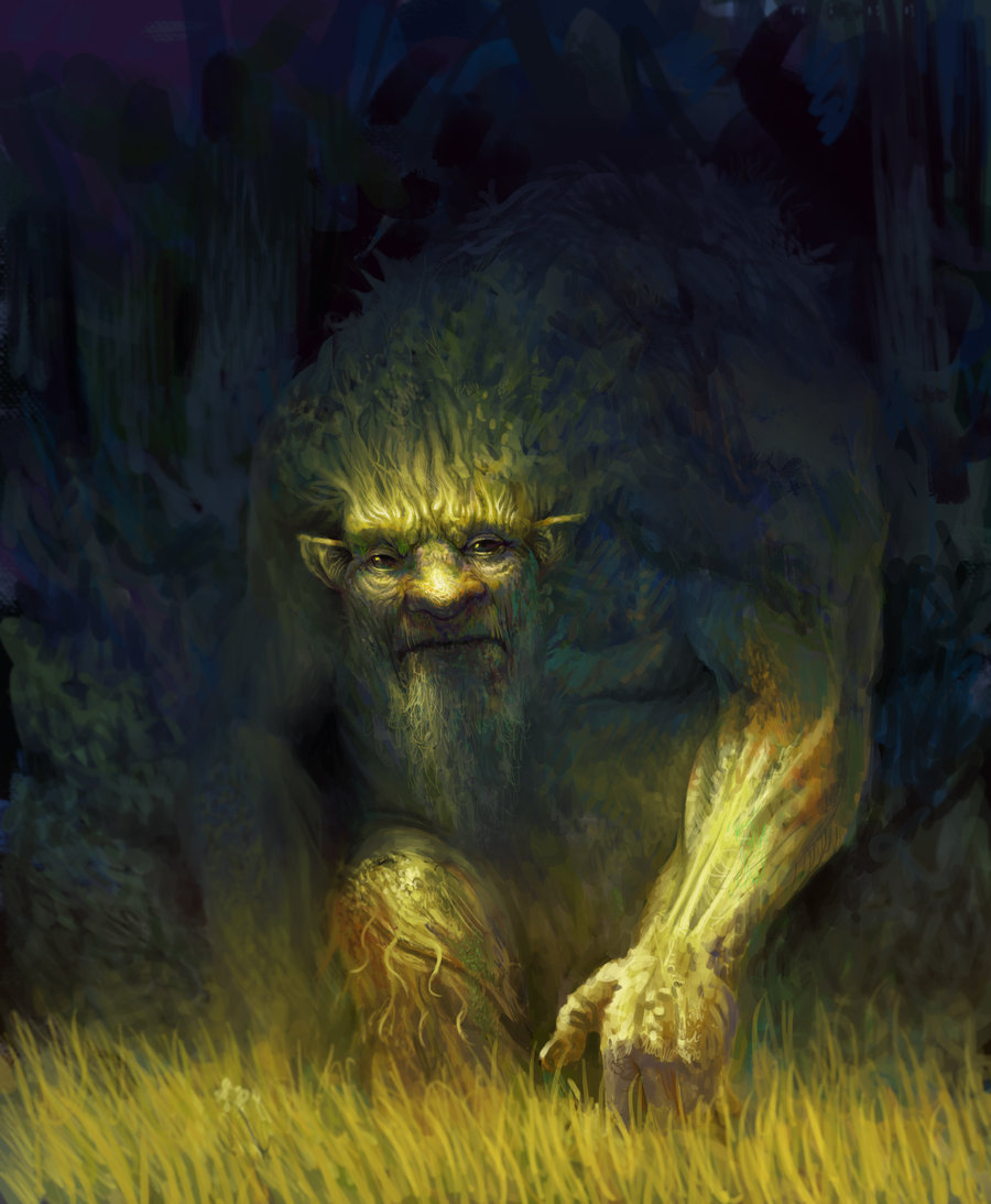 Forest spirit by ~PkLklMike