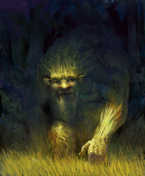 furryfeet:  Forest spirit by ~PkLklMike