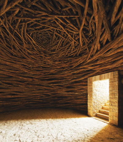 n-architektur:  La Oak Room Andy Goldsworthy
