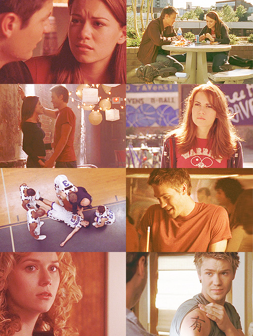 TOP FIVE ONE TREE HILL EPISODES[ in no particular order ] + 1x09: With Arms Outstretched What a frightening thing is the human. A mass of gauges and dials and registers. And we can read only a few, and those perhaps not accurately.