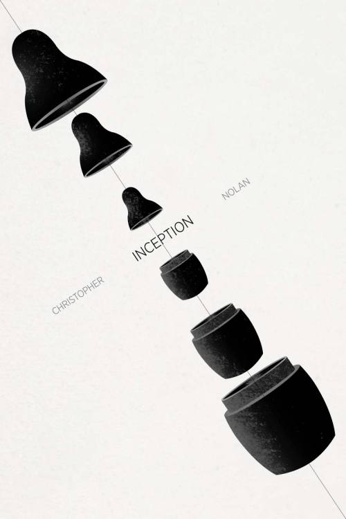 minimalmovieposters:  Inception by Ojasvi Mohanty