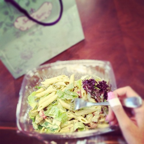 Pasta salad #yummy (Taken with Instagram)